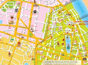 Ha-Noi-Tourist-Map