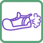 Walk around making funny fart sounds with Fart Shoes by Pouncy Cat Productions: these are the best kinds of farts -- all bark, no bite.