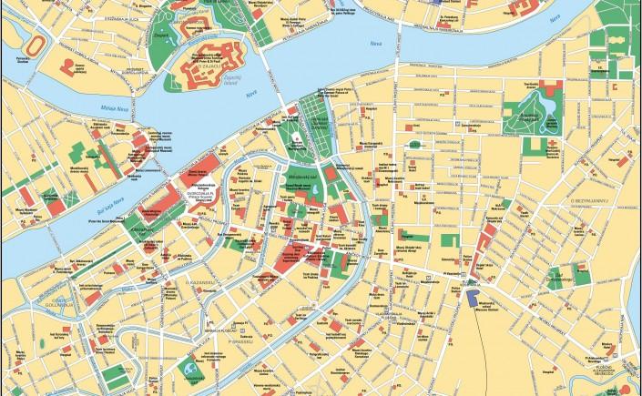 St-Petersburg-Map