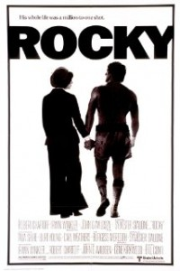 Underdog Rocky Balboa achieves success in boxing and dating.