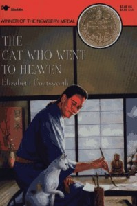 """The Cat who went to Heaven,"" a 1930 book by Elizabeth Coatsworth"